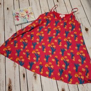 Boho Cactus dress